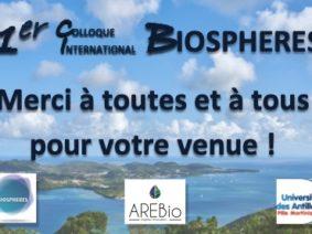 1er Colloque International BIOSPHERES (CIB) Juin 2019 – Vidéos & Actes disponibles !